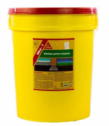 Sika-1 Hidrófugo Químico Inorgánico 20 litros