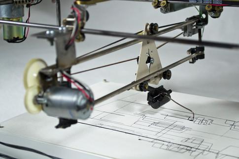 Drawing Machine 7 (detail)