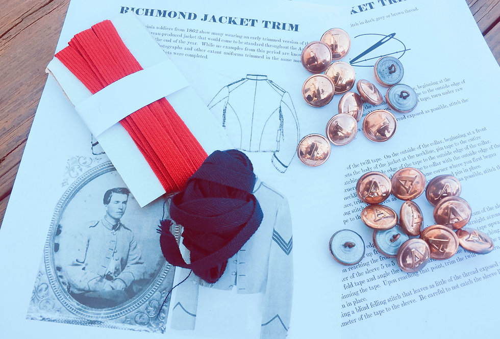 Richmond Trim and Button Kits - Sharpsburg