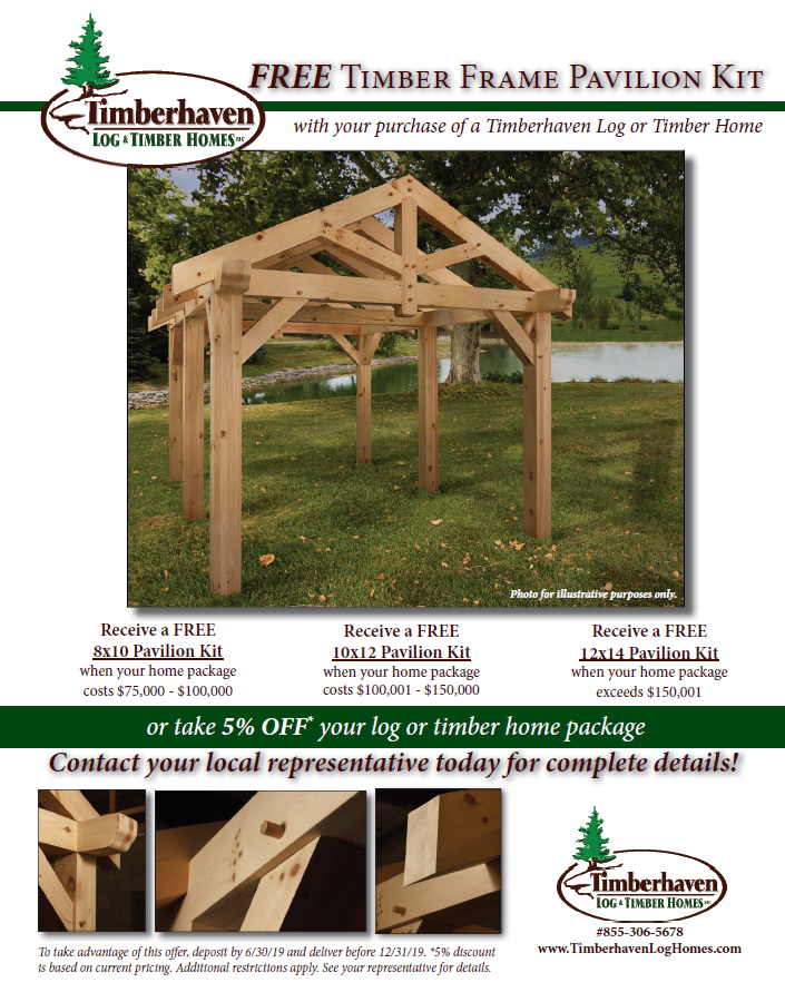 Wondrous Free Timber Frame Pavilion Kit Home Interior And Landscaping Elinuenasavecom