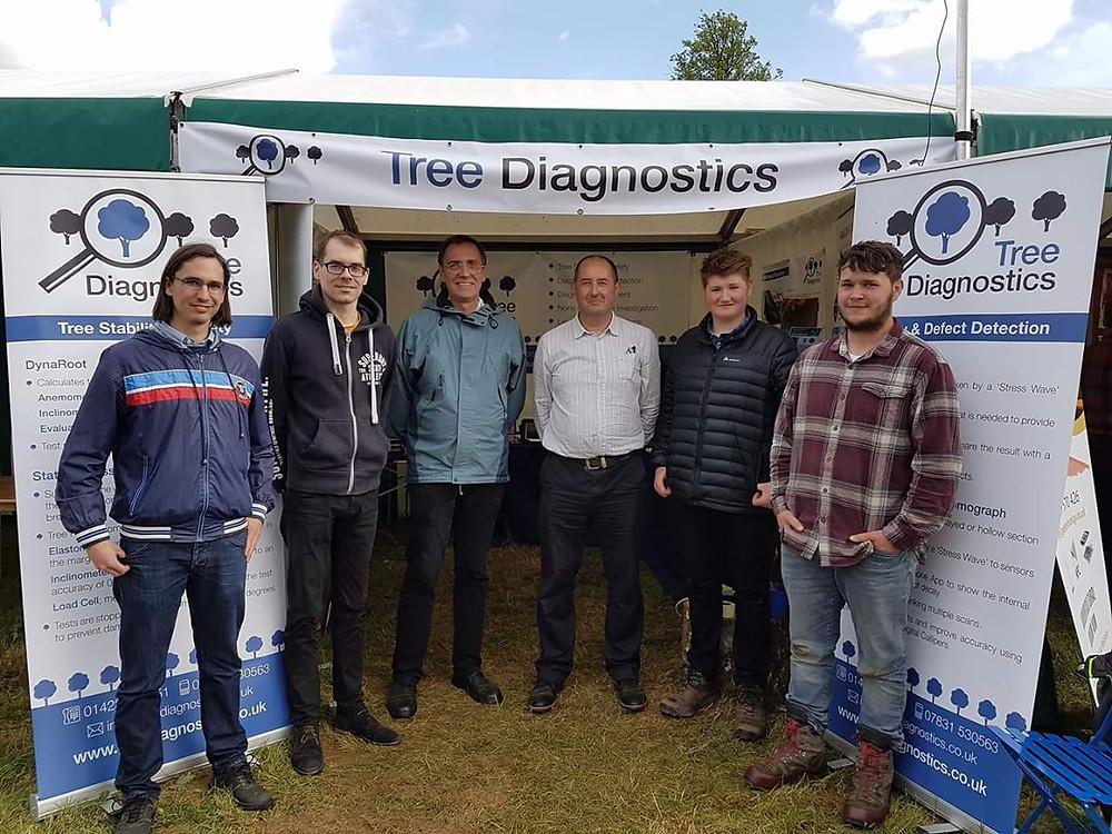 Tree Diagnostics Ltd trade stand