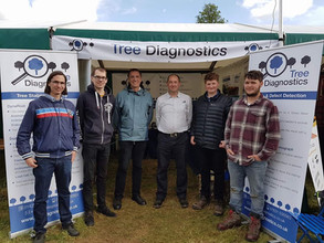 Some of our team at the Arb Show 2017