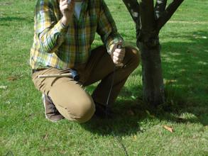 Training on the soil detector