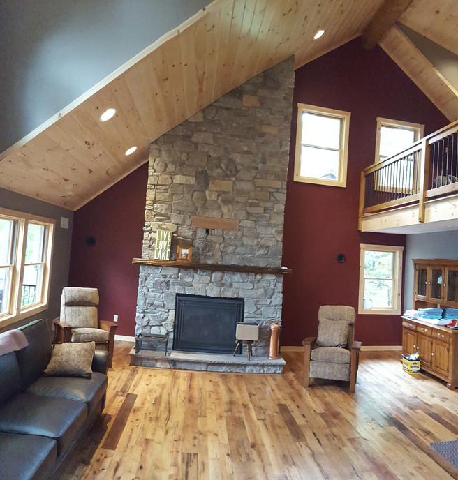 Living Room- Fireplace