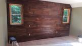 Barn-Sided Bedroom Wall