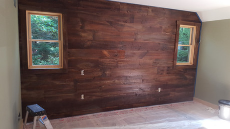 Barn-Sided Bedroom Wall