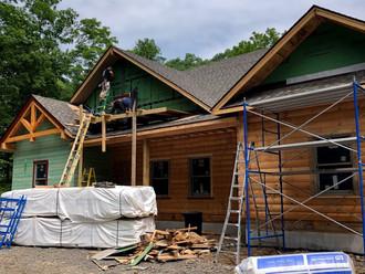 Front Exterior Construction