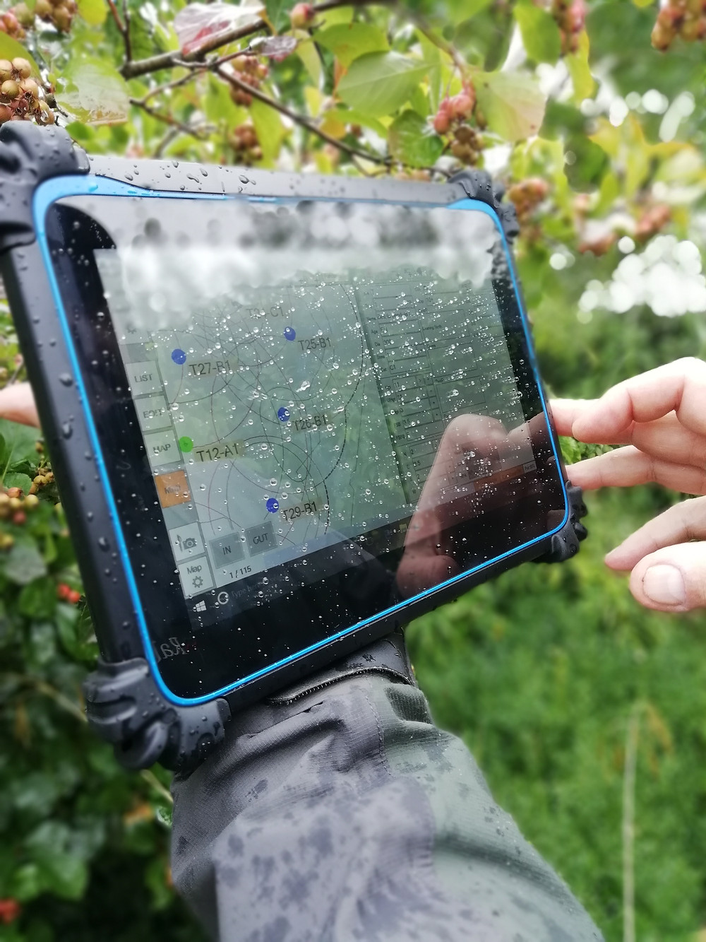 Rugged Tablets don't stop play!