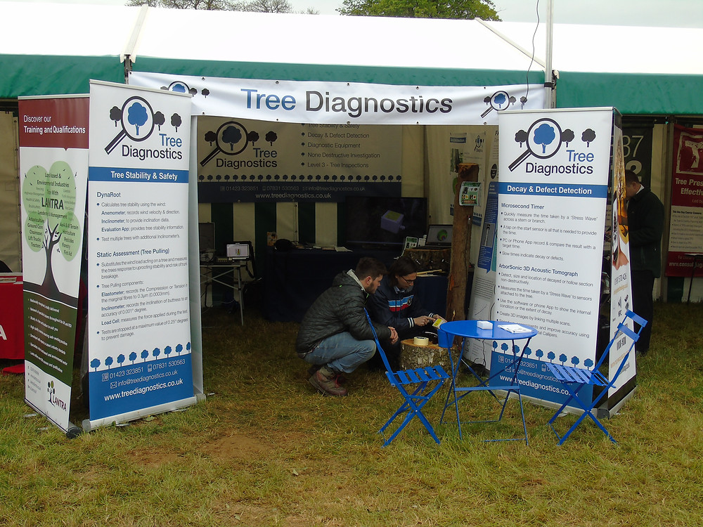 One of our recent stands
