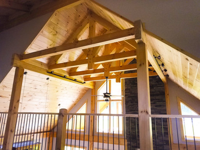 Log Chips Hybrid Houses | New York & New Jersey Log Home Builder
