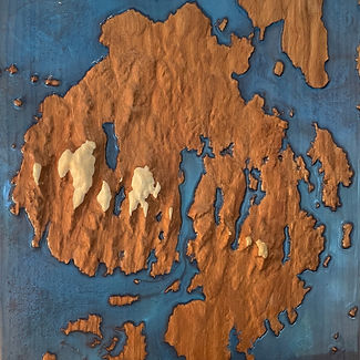 handcrafted Mount Desert Island, Maine in Acadia National Park