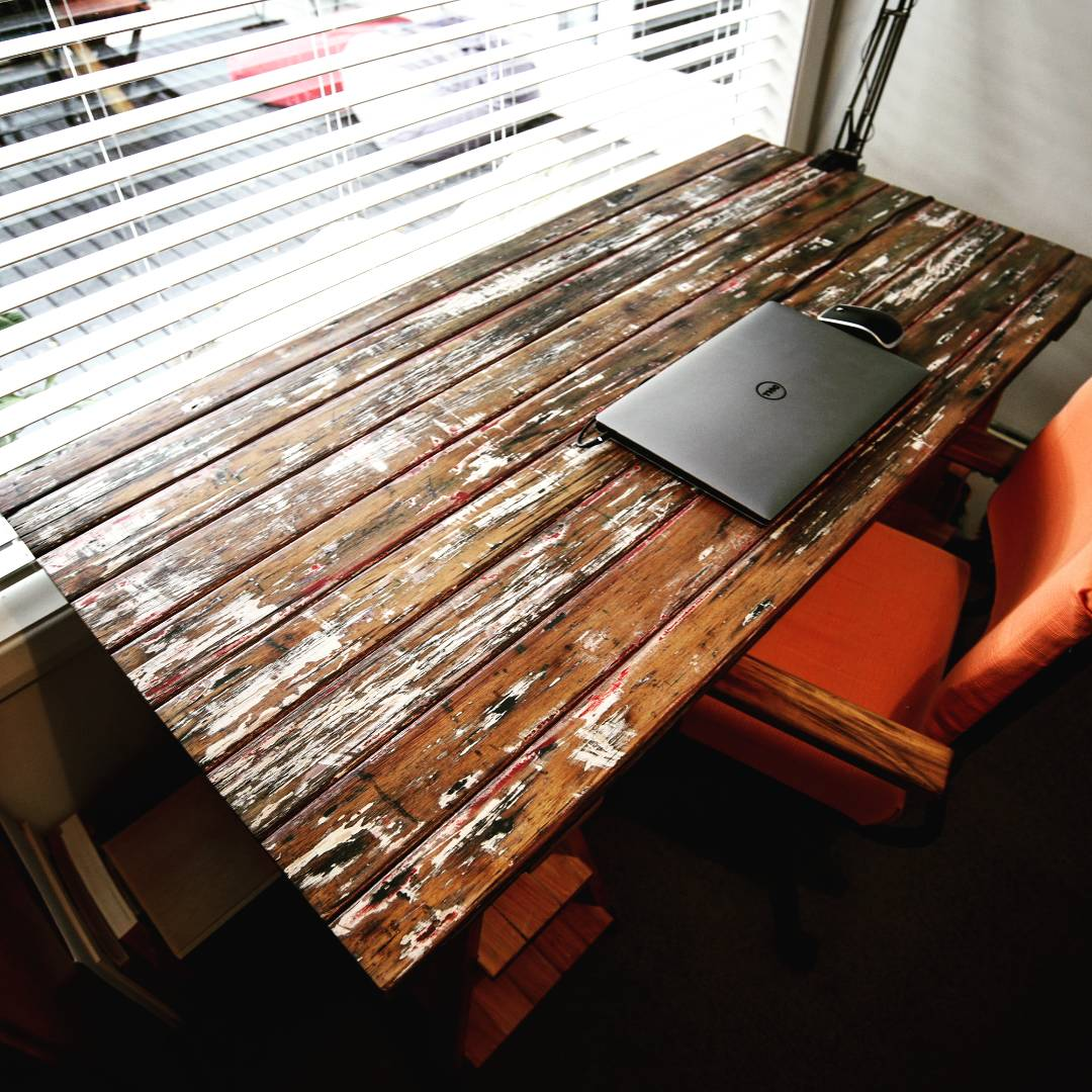 Trestle Leg Office Desk