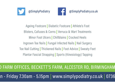 Welcome to Simply Podiatry