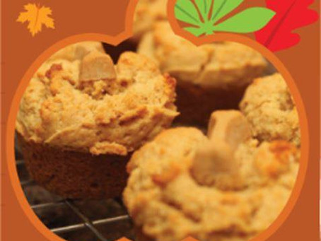 Pumpkin Apple Pupcakes