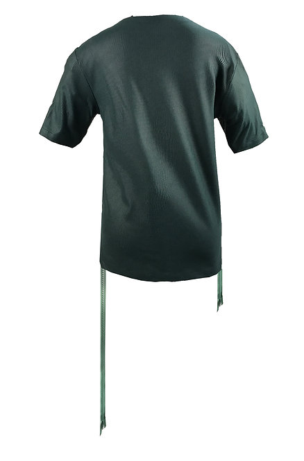 [BACK] Mutant Women | Fabric - Green Stripe | Zipper - Sage Vislon