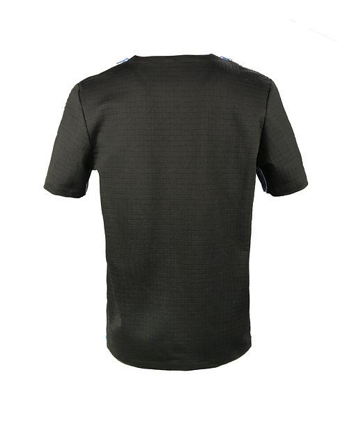 MEN [BACK] MUTANT   Fabric - Black Checker   Zipper - Navy Vislon