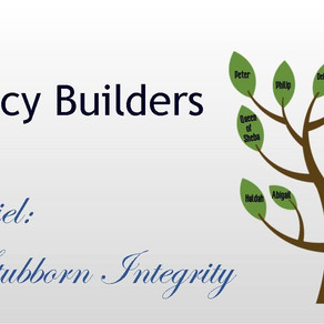 August 23, 2020 Service: Daniel: Stubborn Integrity (Replay)