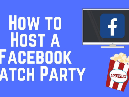 Host a Facebook Watch Party