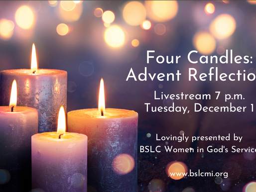 Four Candles: Advent Reflections