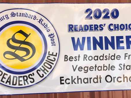 Fredericksburg Standard 2020 Reader's Choice