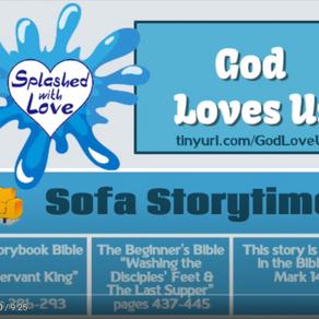 Splashed With Love: God Loves Us
