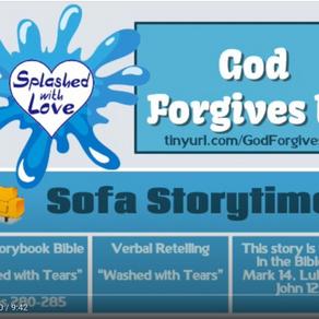 Splashed With Love: God Forgives Us
