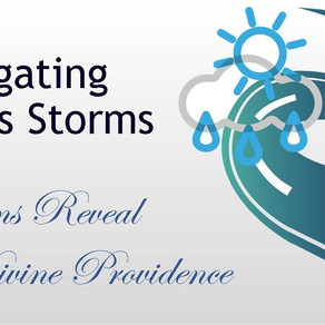 October 11, 2020 Service: Navigating Life's Storms: Storms Reveal Divine Providence (Replay)