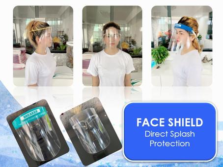 รับผลิต Face Shield / แบบแว่นตา/ขายส่ง ป้องกันไวรัส COVID-19