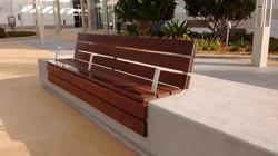 Wood & Seel on Concrete