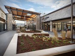 Denver Premium Outlets bench