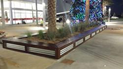 Wood & Metal Planter 2