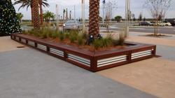 Wood & Metal Planter