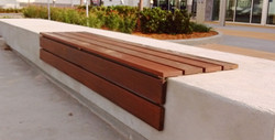Wood on Concrete