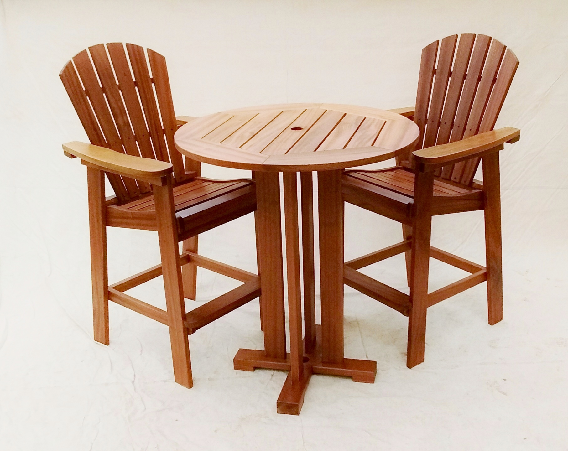Adirondack Bar Table Set