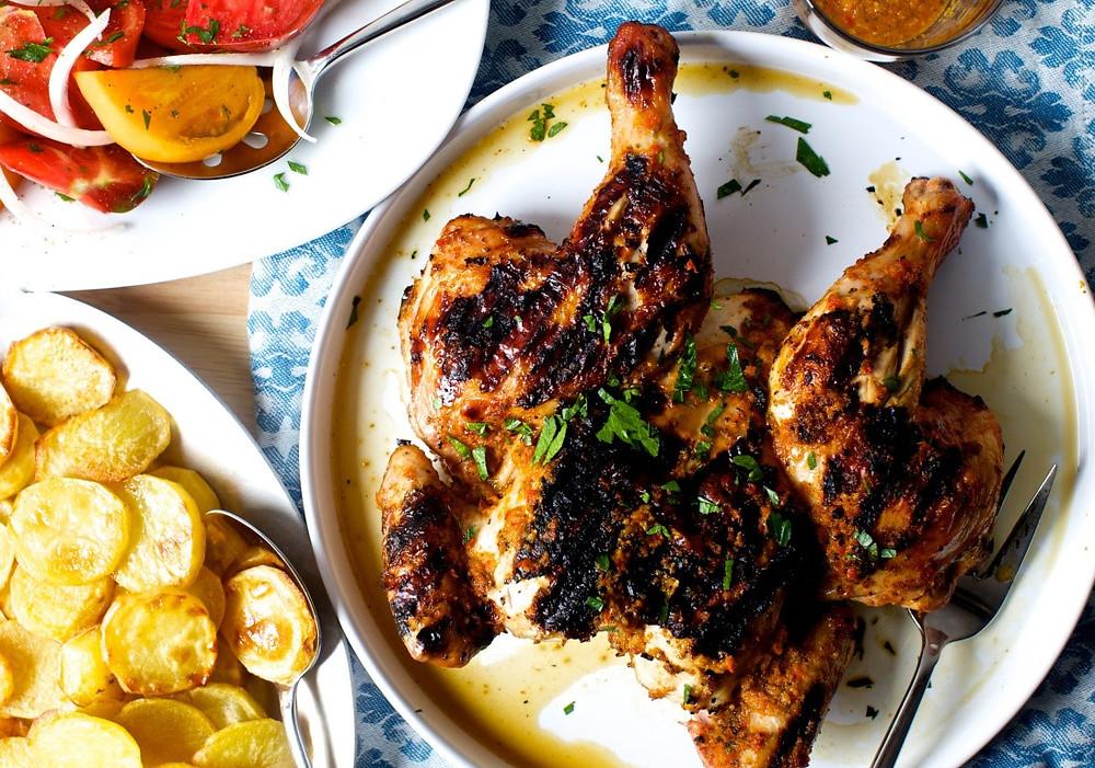 Главные блюда Португалии, курица пири-пири