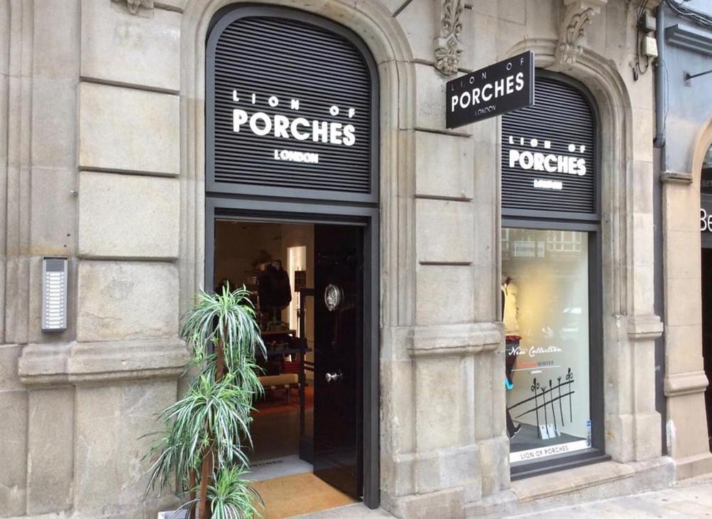 Lion of Porches, португальские бренды