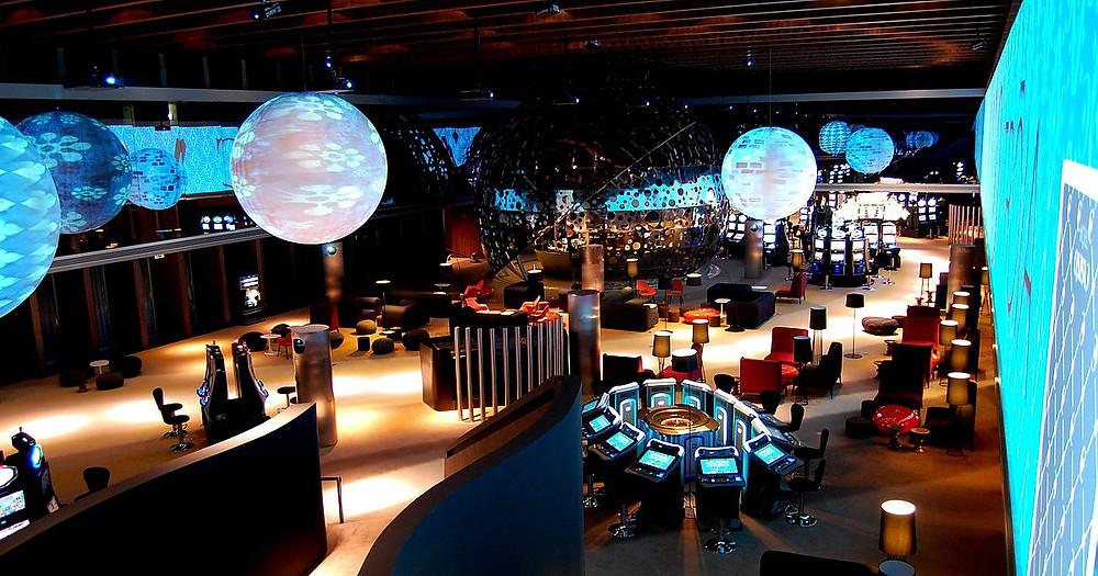Ночная жизнь в Португалии, казино в Португалии, Casino de Troia