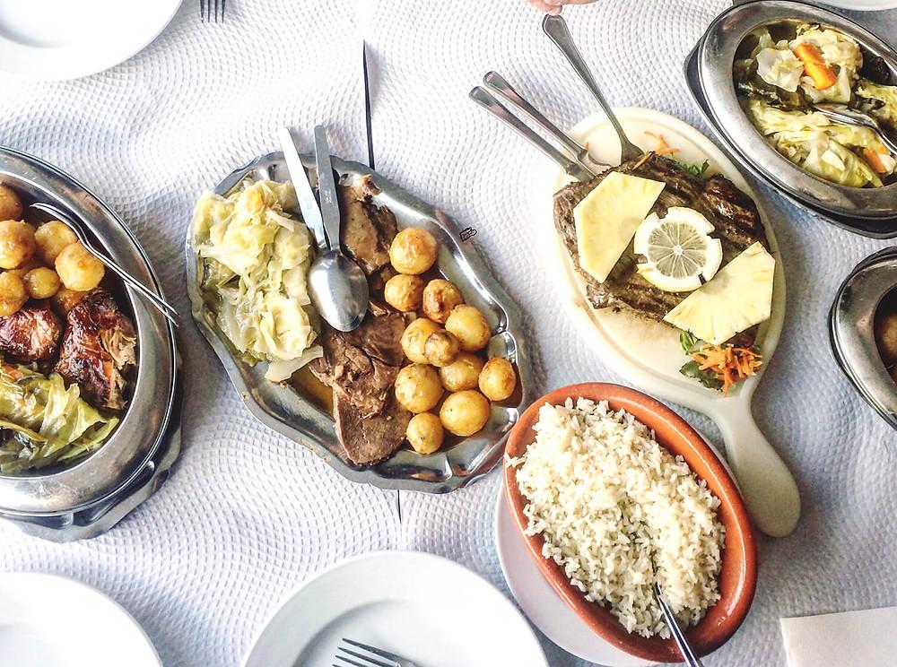 Главные блюда Португалии