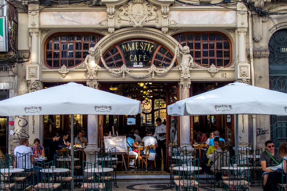 Достопримечательности Порту, кафе Majestic