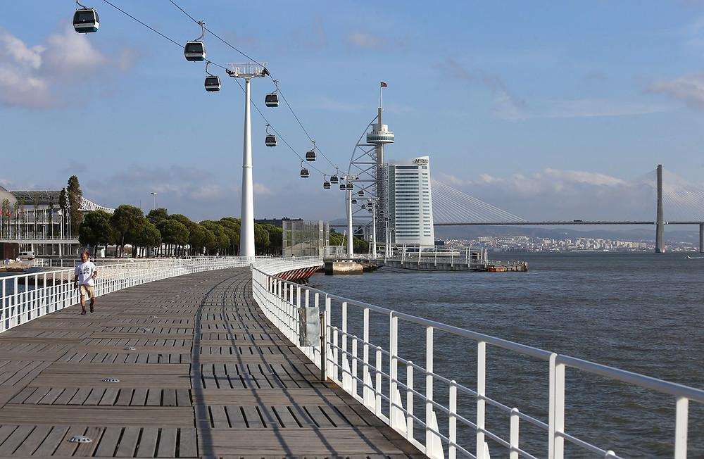 Интересные места в Португалии, Парк Наций, канатная дорога