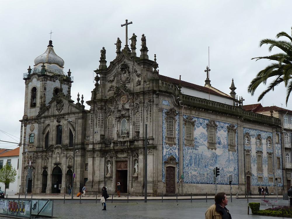 Достопримечательности Порту, Igreja da Nossa Senhora do Carmo das Carmelitas