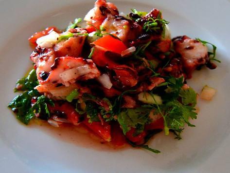 Салат с Осьминогом (Salada com Polvo)
