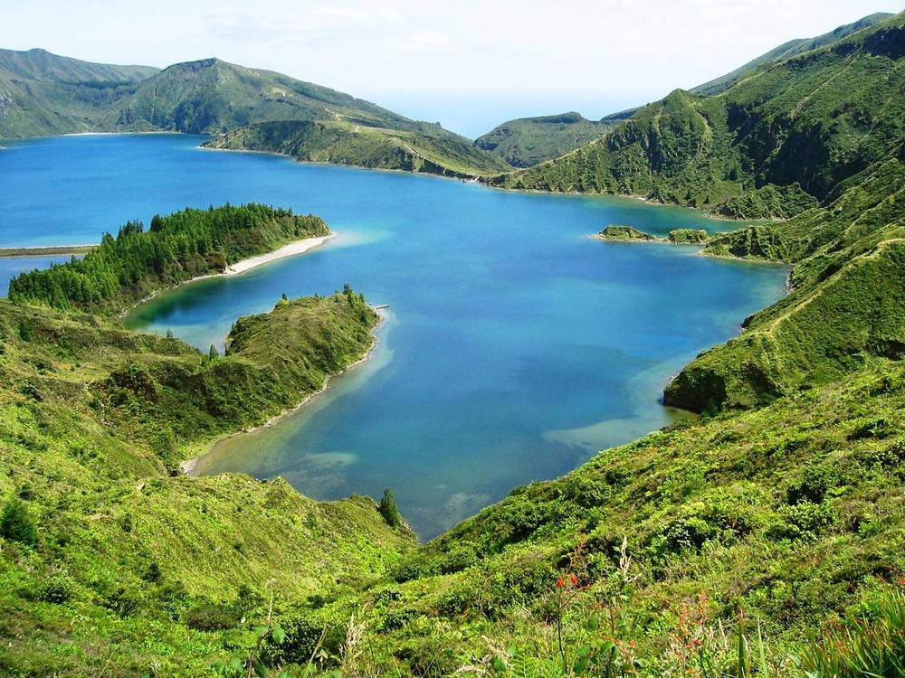 Lagoa do Fogo, Азорские острова (Azores)