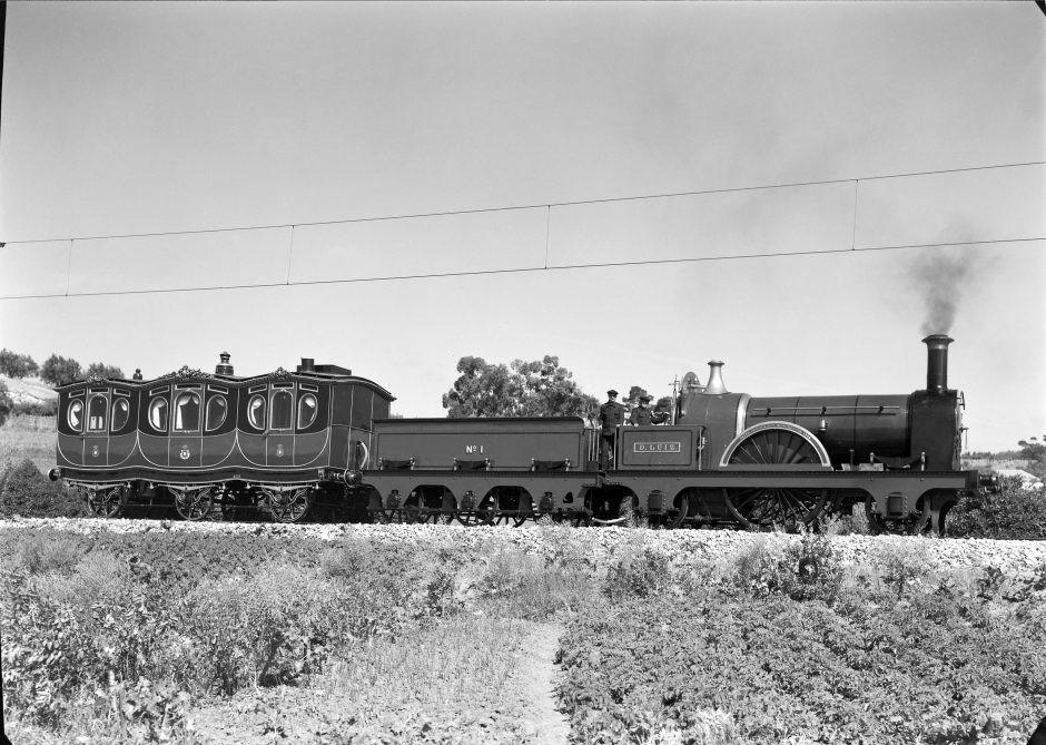 Железные дороги Португалии, королевский поезд