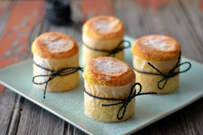 Кексы из рисовой муки, Bolos de Arroz, португальская кухня, рецепт,