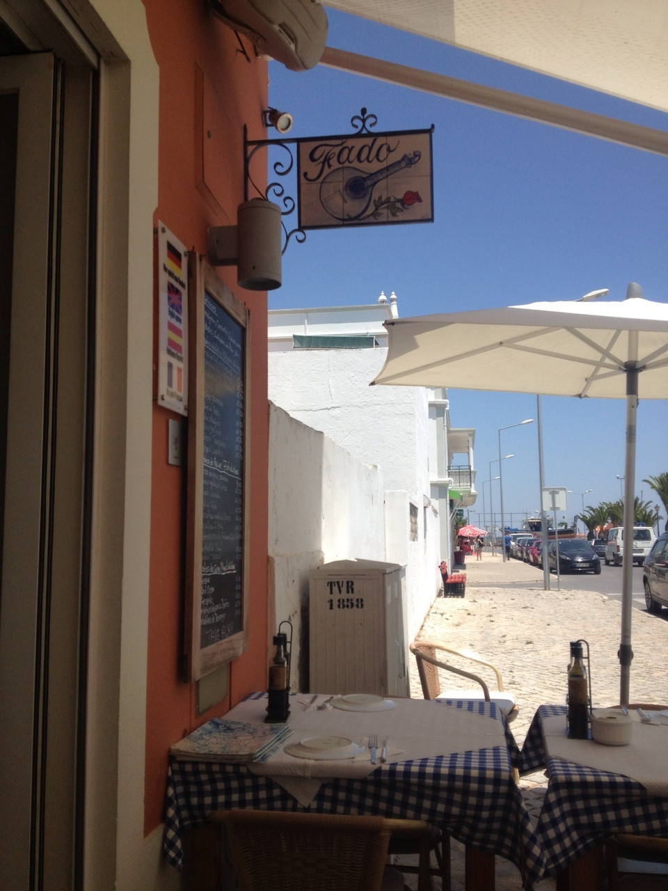 Ресторан в Португалии