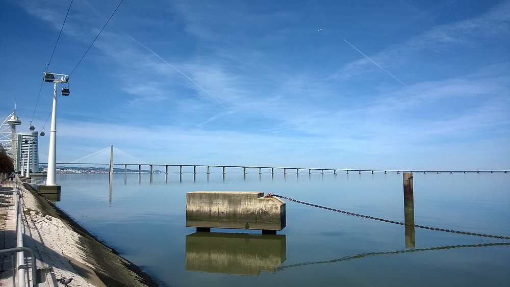 Интересные места в Португалии, Парк Наций, мост Васко да Гама