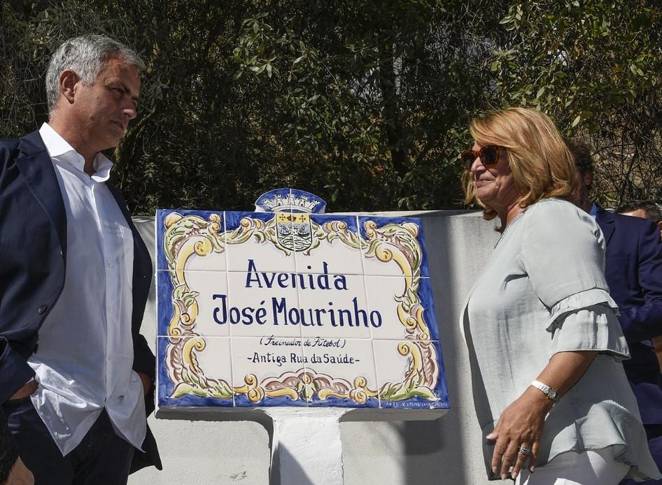 Новости Португалии, улица в честь Жозе Моуриньо
