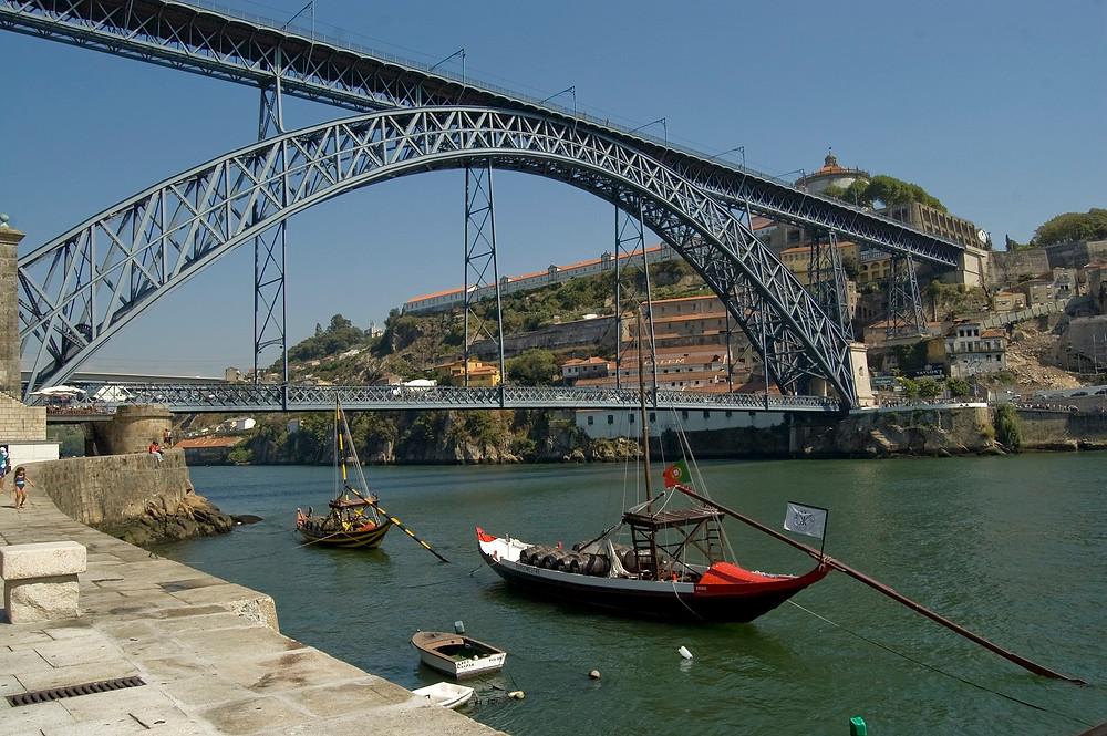 Достопримечательности Порту, мост Луиша I
