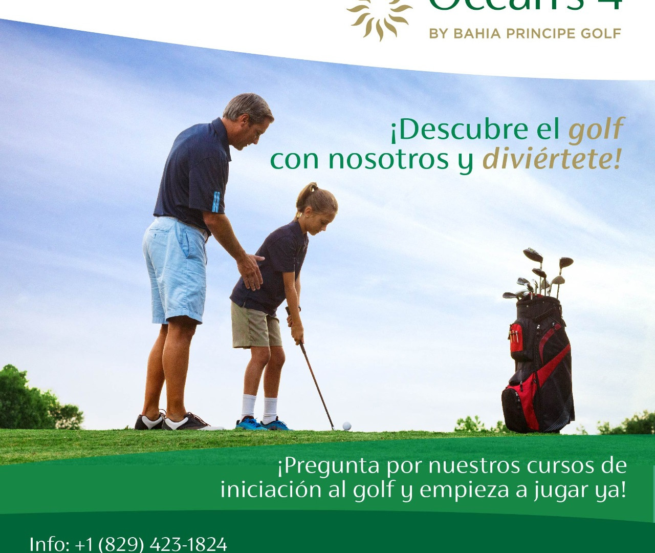 Golf iniciación